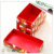 Custom hot sale full color printed collapsible storage box with lid with lid