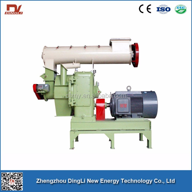 Ring Die Wood Chips Pellet Making Machine With ISO Certificate