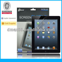 9.7 inch Tablet screen protector for The New iPad oem/odm (High Clear)