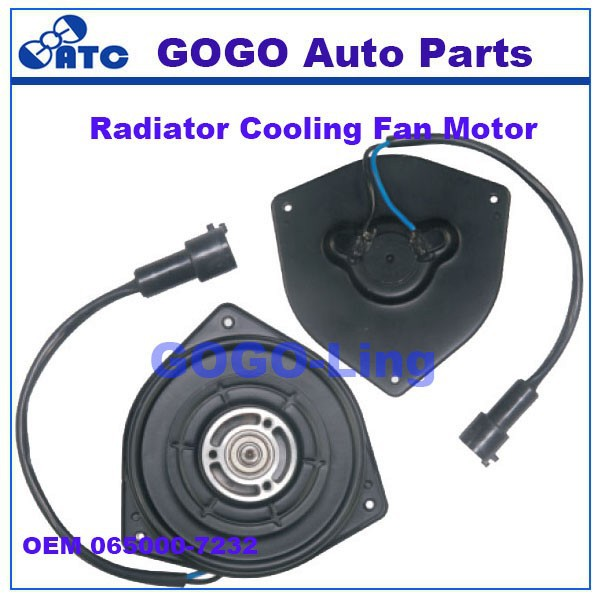 GOGO CAR Radiator Fan Motor for Suzuki OEM 065000-7232 0650007232