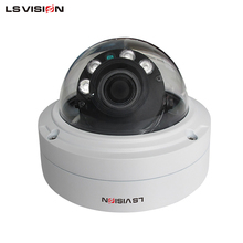 LS VISION 4 MP Round Security and Surveillance Cameras POE System