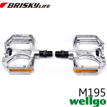 Cheap silver color bike pedal for Mountain bike