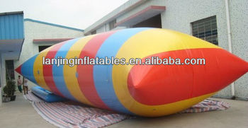 inflatable water catapult blob for water park