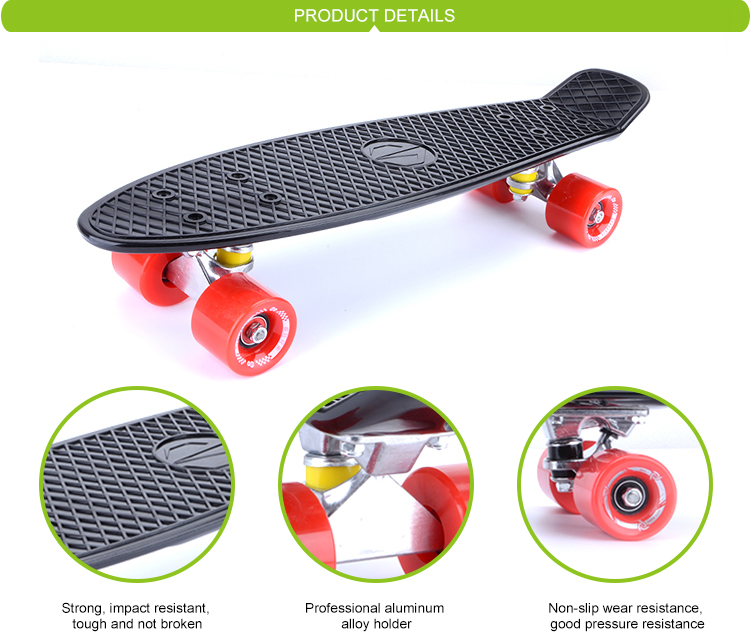 Wholesale original fish skateboard with ce