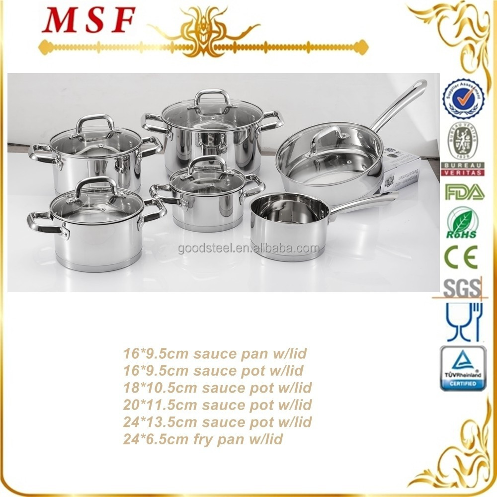 Favorable item surgical steel cookware prima cookware