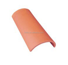 Hot sale traditional half round clay roofing tile pan tile