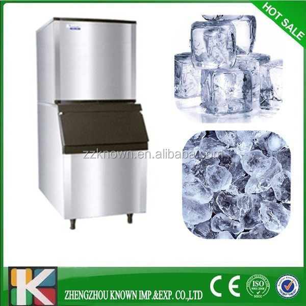 Industrial ice making machines for cube ice producing factory