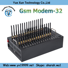 32 ports Multiple ports Bulk sms sending & receiving ,gprs modem gsm module/black box sim card