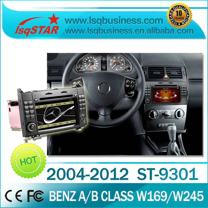 LSQ Star Mercedes A Class W169/ B Class W245 car dvd with gps navigation radio bluetooth tv ipod canbus steering usb sd slot...