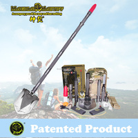 The Ultimate Emergency Survival Tool And Gear Magical Mastiff Multifunction Shovel Hoe Hammer Knife Flashlight Ice pick