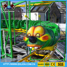 kiddie games backyard roller coaster for sale