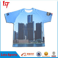 Dye sublimated clothing ,latest new exquisite t shirt, wholesale for men 2015