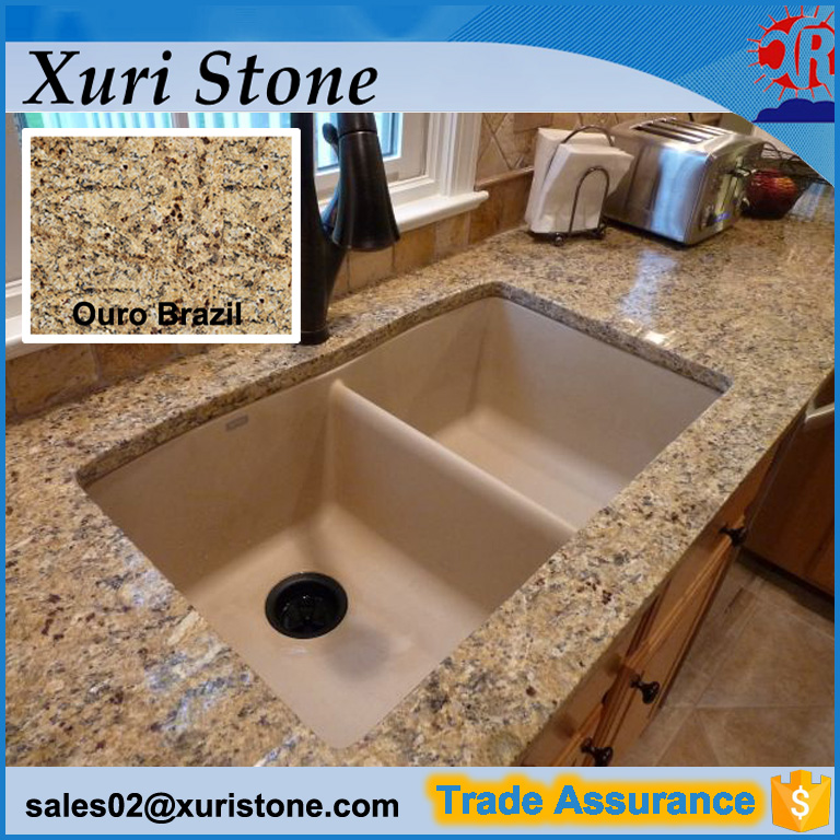 bathroom ouro brazil granite countertops
