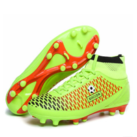 HFR-TS288 2015 new men high soccer boots shoes