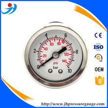 stainless steel safety series cng pressure gauge