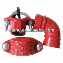 FM UL approved fire fighting pipe fitting
