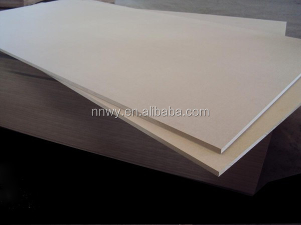 MDF RAW (Plain)1830*3660*16 mm hight density 760 E1 iran market
