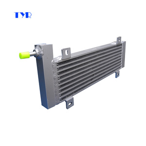 Aluminium Plate bar Air Cooled Fuel Oil Cooler