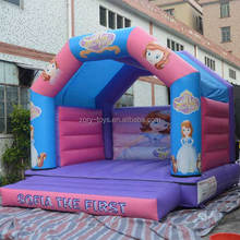 Inflatable Bouncer games , ZY-BH1995 inflatable Bouncer adult cartoons for sale