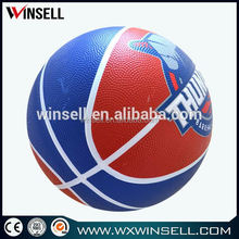Hot sale black custom rubber basketball ball made in thailand