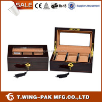 Personalized high quality luxury wooden watch display box
