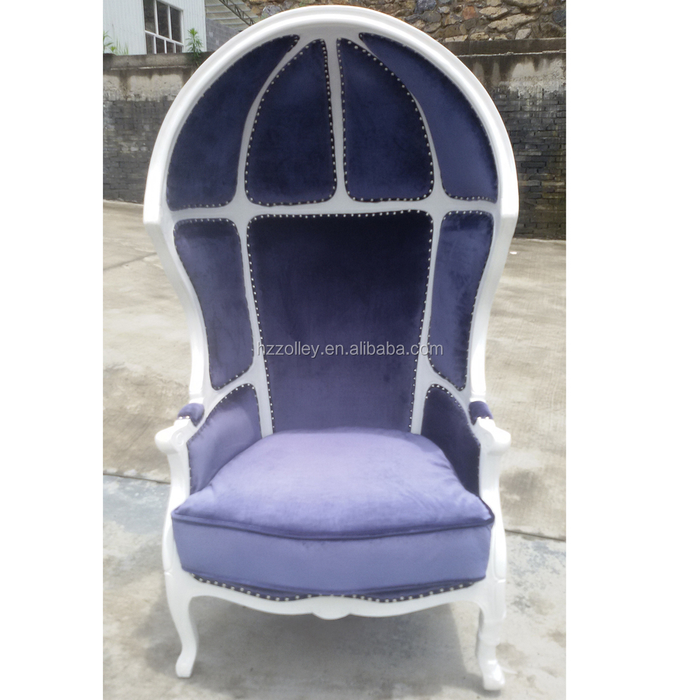 hot fashion guest room canopy egg chair  accent half dome Egg -Shaped Chair Oval Egg Template