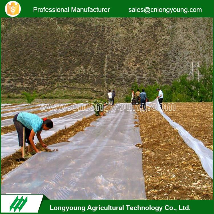 Fashion professional agricultural used durable plastic mulch film