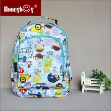 2017 new character cartoon school satchel bags for kids
