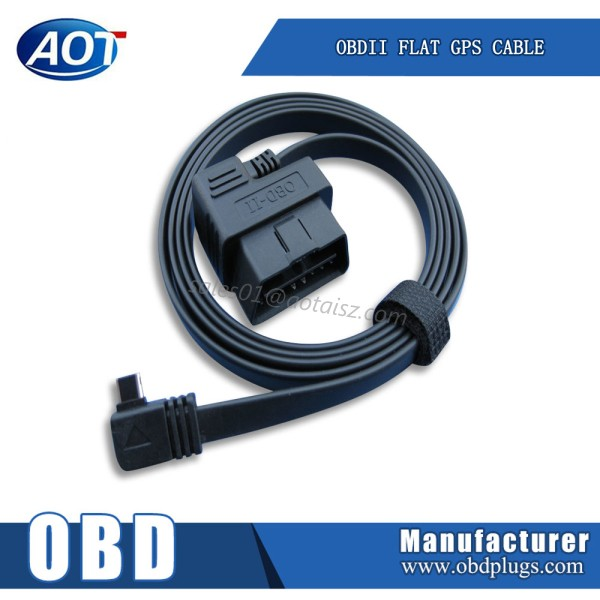 OBD to micro usb cable OBDii ribbon cable
