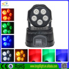 best selling products in america 5*10W RGBWA 5in1 dmx512 moving head light