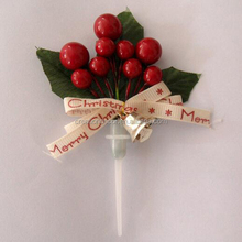 Christmas cake dessert inserted decoration