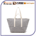 2016 Plain Two handle Canvas Hands Bags Beach Bags