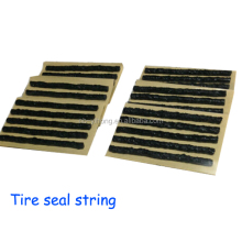 "Tire puncture seal 4"" Self-vulcanizing Tubeless Repair Seal Strings rubber strip Inserts"