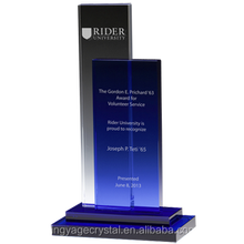 Jingyage Blue Steps Crystal Award