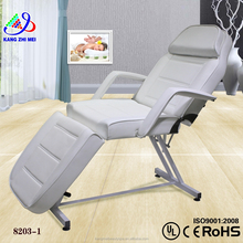 2015 white massage table bed/folding massage facial bed/electric reiki massage bed and table (KM-8203)