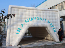 2015 Hot-selling cheap custom white large inflatable tent / water cube