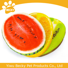 Ellipse watermelon lemon kiwi fruit shape dog mat large dog sofa pet bed products