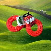 hexagon manual brush cutter Nylon Grass cutter trimmer line professional line nylon grass trimmer line road should cutter