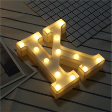 KO 3D LED Night Atmosphere Decorative Lamp for Party Holiday Marquee Sign Letter Light