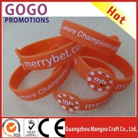 Best Selling Glow In The Dark Silicone Bracelet support OEM, Customized production wholesale price silicone bracelet/wrist band
