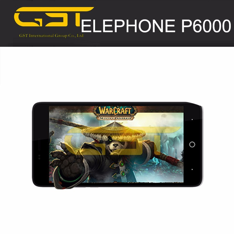 2015 Hot New Original 5'' 4G LTE Smartphone 64bit MTK6732 Quad Core ,2GB RAM 16GB ROM Elephone P6000