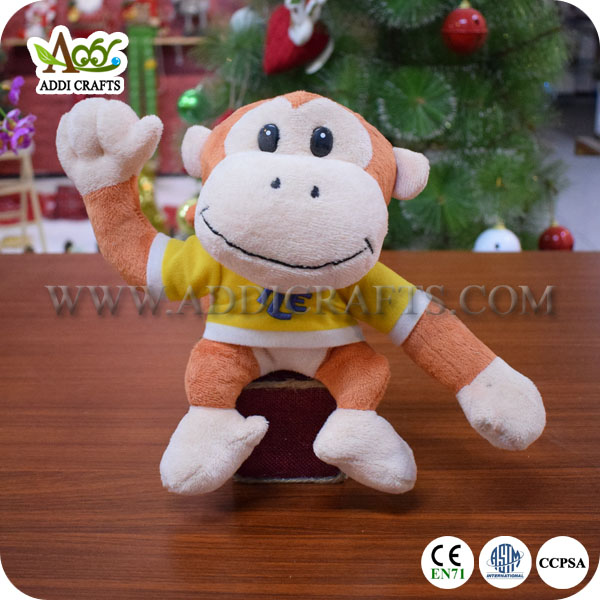 Monkey Stuffed Toy Monkey Animal Toy Monkey Plush Stuffed Toy