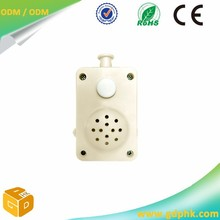 Made in China plastic squeeze sound box for toy, ROSH material