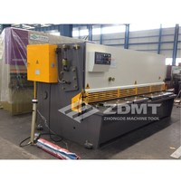 Plate cutting machine / hydraulic shearing machine with E10 digital display nc