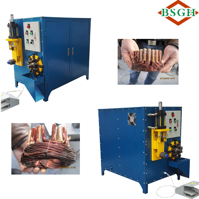 Vertical stator coil winding machines electric motor stator recycling machine for sale