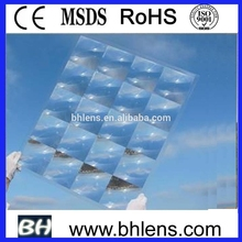 focal length 120mm fresnel solar lens array for hcpv solar panel