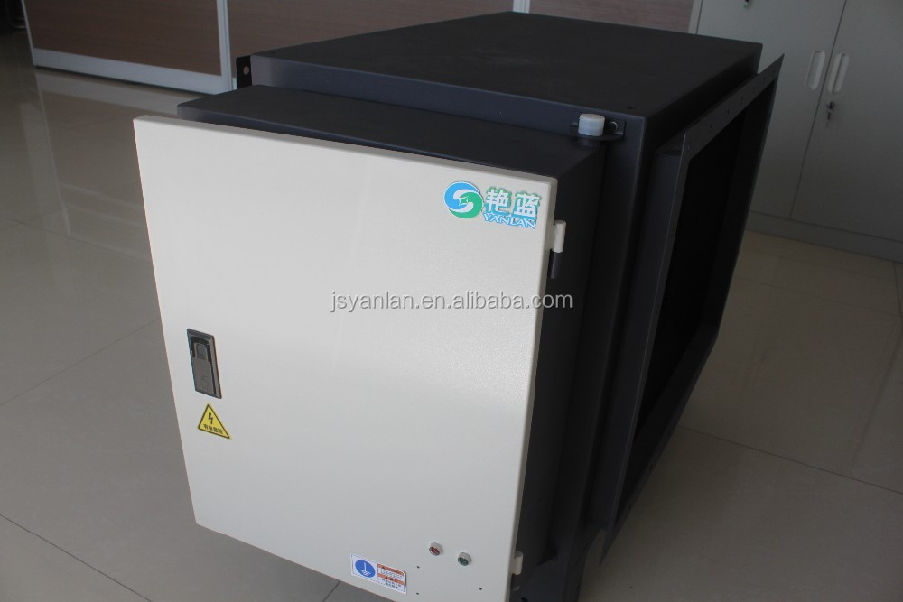 YLC series longtime service Automatic small smart Fume Air Filter, electrostatic precipitator for commerial application