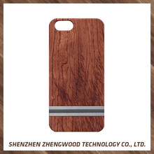 Aluminium waterproof phone wooden case animal shaped wood phone cases for iPhone 6s/6 plus