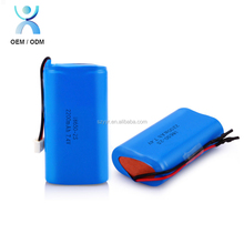 Portable dvd player 7.4v Li ion battery pack 2000mah 2200mah 18650 rechargeable batteries for Toys