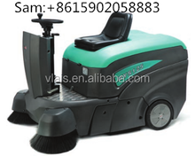 Dedicated road sweeper/multi-function floor cleaning machine with double brush